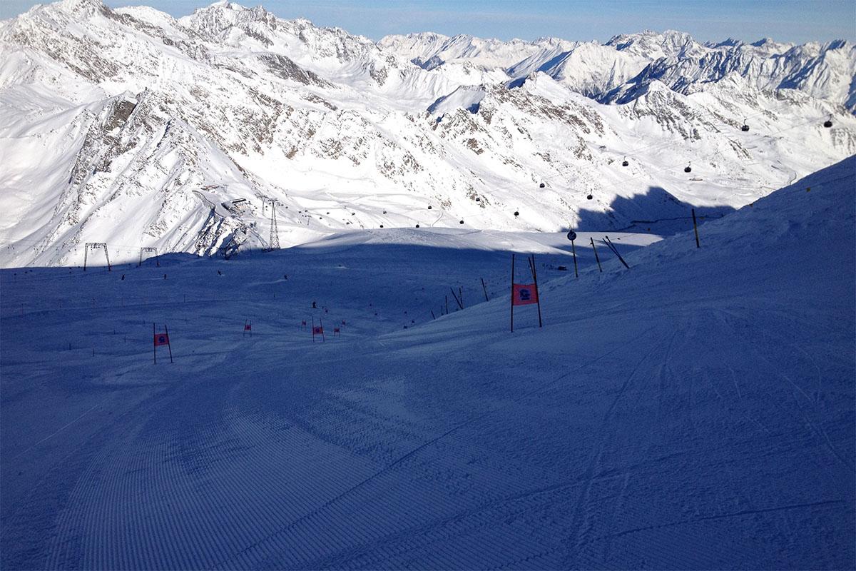 Wintersport in Soelden